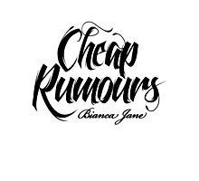 Cheap Rumours Black #4 Photographic Print