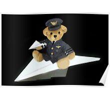 Ƹ̴Ӂ̴Ʒ COME FLY WITH ME I'M A BEARY GOOD PILOT Ƹ̴Ӂ̴Ʒ Poster