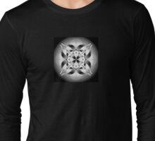 Mandala - Year of the Goat (black and white) Long Sleeve T-Shirt