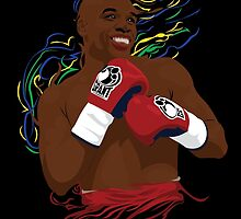 Floyd Mayweather Jr by Tloweart