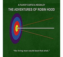 Robin Hood Minimal Movie Poster Photographic Print
