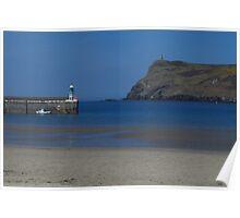The Breakwater & Bradda Head, Port Erin Poster