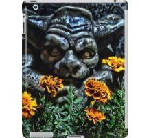 Gargoyle Garden Keeper iPad Case/Skin