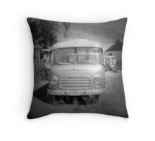 Old Bus Throw Pillow