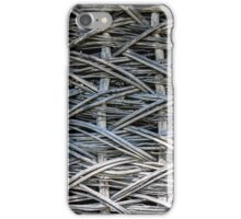 Material detail of typical ukrainian antique house iPhone Case/Skin