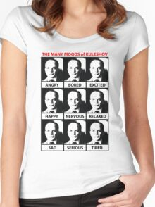 The Many Moods of Kuleshov Women's Fitted Scoop T-Shirt