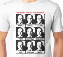 The Many Moods of Kuleshov Unisex T-Shirt
