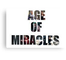 Age of Miracles - Wanda and Pietro Maximoff Canvas Print