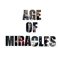 Age of Miracles - Wanda and Pietro Maximoff Photographic Print
