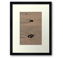 Mussels, Rock and Ripples Framed Print