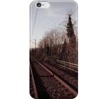"""""""Entre deux trains"""" iPhone Case/Skin"""