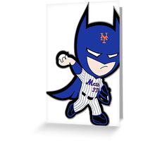 Dark Knight Matt Harvey Greeting Card