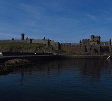 Peel Castle, Isle of Man by wiggyofipswich