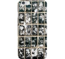 Dirty Wall of Tiles and Paper Texture iPhone Case/Skin