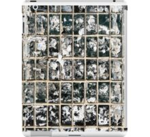 Dirty Wall of Tiles and Paper Texture iPad Case/Skin