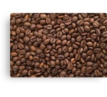 Beans of Coffee Canvas Print
