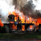 Controlled House on Fire  by Chuck Gardner