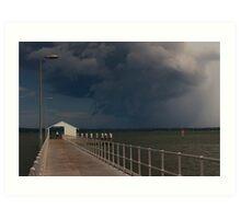 Storm Approaching 2 Art Print