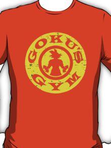 DragonBall Z Goku Train Insaiyan Or Remain The Same Train Insaiyan It's Over 9000 Goku's Gym Training to beat Goku Anime Cosplay Gym T Shirt T-Shirt