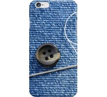 Sewing a Button iPhone Case/Skin