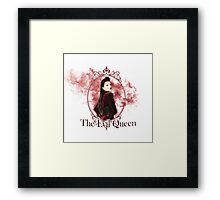 The Evil Queen smoke edit Framed Print