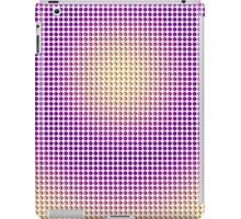 Abstract Colorful Watercolor Girly Polka Dots  iPad Case/Skin
