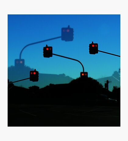 Intersection Indecision Photographic Print