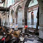 Abandoned and collapsing asylum by DariaGrippo