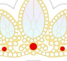 Lost Princess Crown Sticker