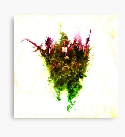 Inhale Thy Colour Canvas Print