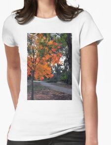 Autumn Colours 1 Womens Fitted T-Shirt