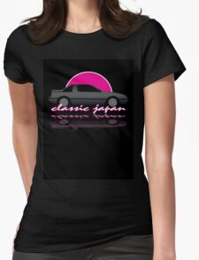 Classic Japan - Nissan Exa Coupe Womens Fitted T-Shirt