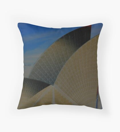 Sails inverted Throw Pillow