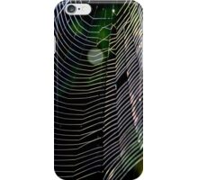 Orb Weaver Web iPhone Case/Skin