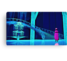 Anna and the Ice Palace Canvas Print