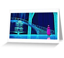 Anna and the Ice Palace Greeting Card
