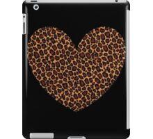 leopard heart iPad Case/Skin