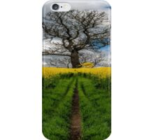 Field Of Rapeseeds iPhone Case/Skin
