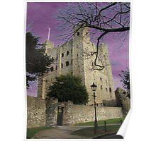 Rochester Castle, England Poster