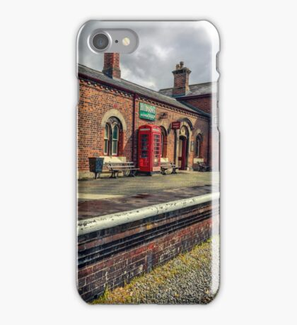 Hadlow Road Railway Station iPhone Case/Skin