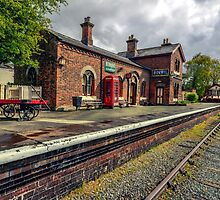 Hadlow Road Railway Station by Adrian Evans