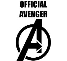 Official Avenger Print Photographic Print
