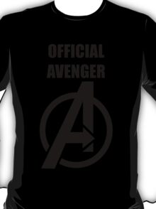 Official Avenger Print T-Shirt