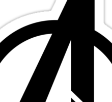 Official Avenger Print Sticker