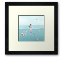 Day at the Ocean Framed Print