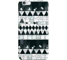 Moderm Abstract Black & White Tribal Pattern iPhone Case/Skin