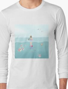 Day at the Ocean Long Sleeve T-Shirt