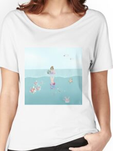 Day at the Ocean Women's Relaxed Fit T-Shirt