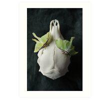 Luna moths still life Art Print