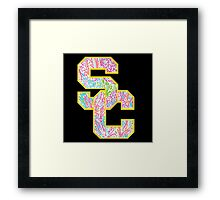 University of Southern California Framed Print